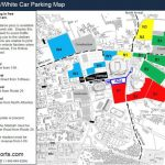 B&w Game Parking Map Pertaining To Penn State Parking Map