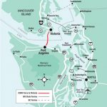 By Sea • Usa Ferries To Vancouver Island   Traveling Islanders Regarding Washington State Ferries Map