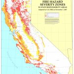 Cal Fire   California Fire Hazard Severity Zone Map Update Project For California State Fire Map