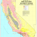 Cal Fire   California Fire Hazard Severity Zone Map Update Project Throughout California State Fire Map