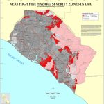 Cal Fire   Orange County Fhsz Map Throughout California State Fire Map
