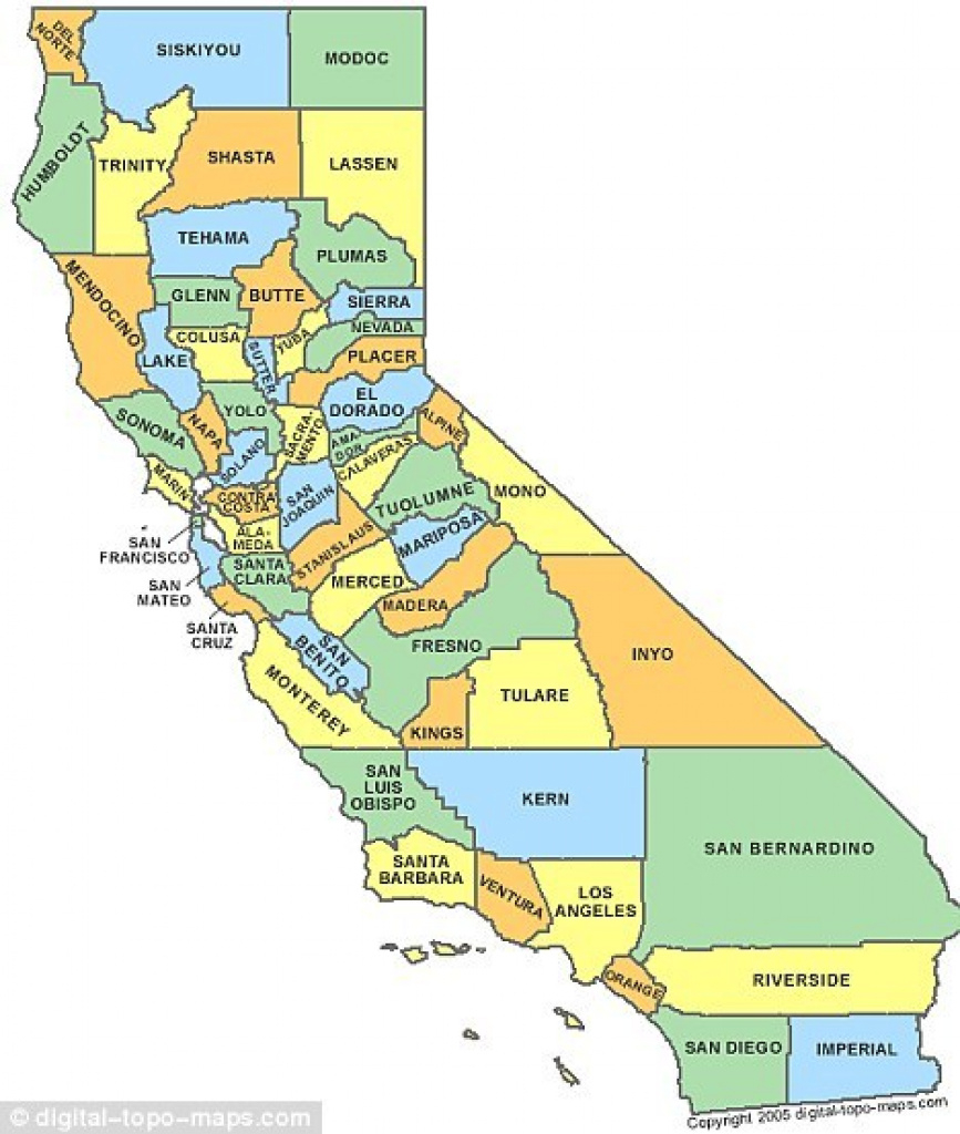 California Should Be Split Into Two States' According To County regarding Splitting California Into Two States Map