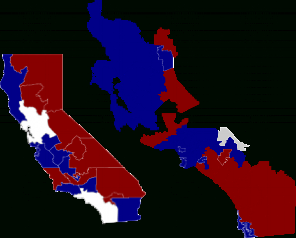 California State Assembly Districts - Wikipedia throughout California State Assembly District Map