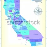 California State Map Community Assistance Activates Stock Vector Pertaining To Google Maps Welcome To State Icons