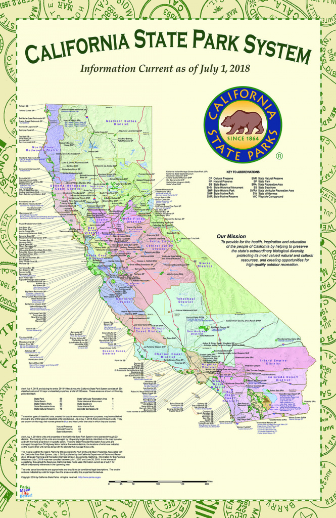 California State Park Maps with regard to California State Parks Map