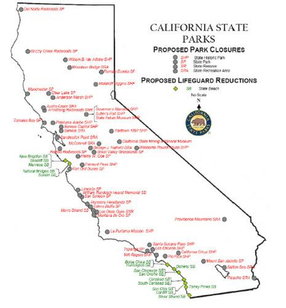 California State Park System In Crisis | Kalw regarding California State Parks Map