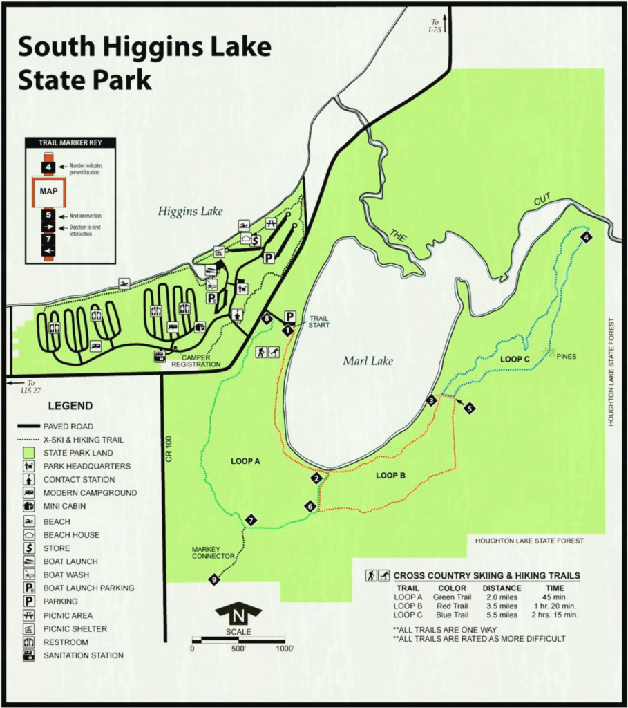 Camping And Backpacking Bend Oregon - Luxury Turks Caicos Island throughout South Higgins Lake State Park Map