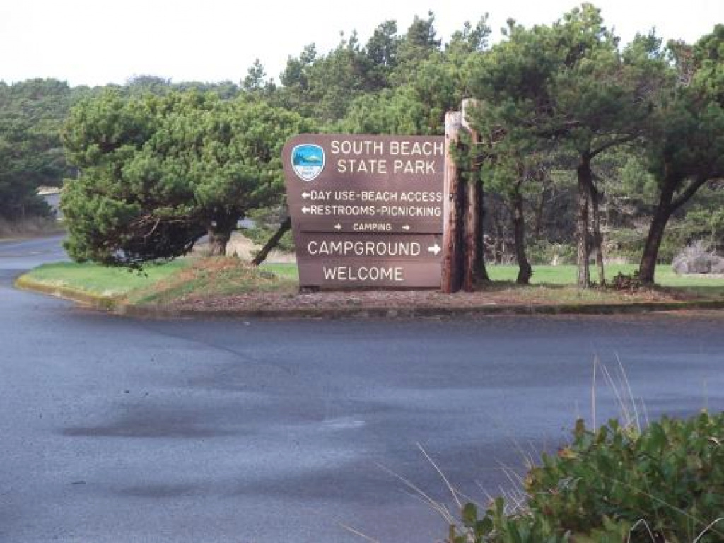 Camping At South Beach State Park, Or with regard to Oregon State Parks Camping Map