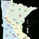 Camping: Camper Cabin Locations   Minnesota Dnr   Mn Department Of In Minnesota State Park Camper Cabins Map