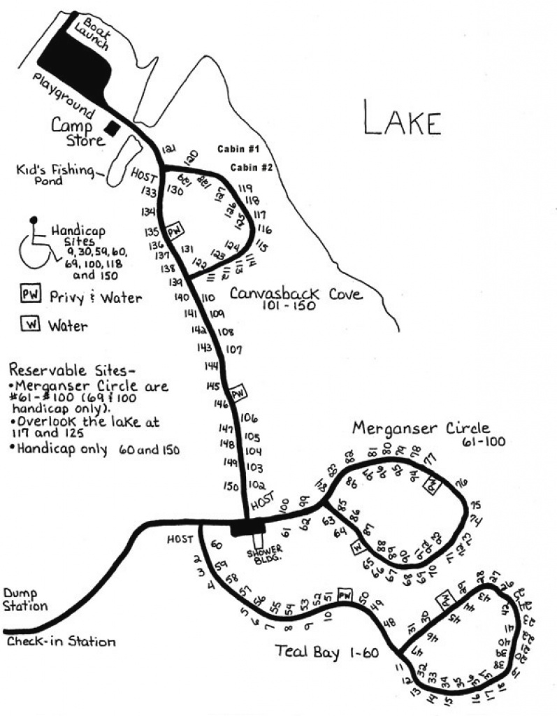 Camping | Shabbona Lake State Park with regard to Illinois State Campgrounds Map