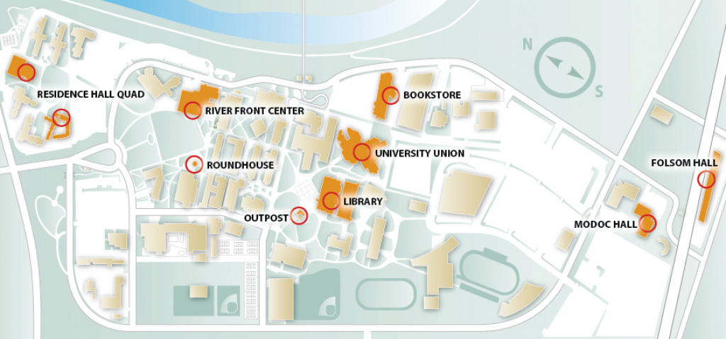 Campus Eateries intended for Sac State Campus Map