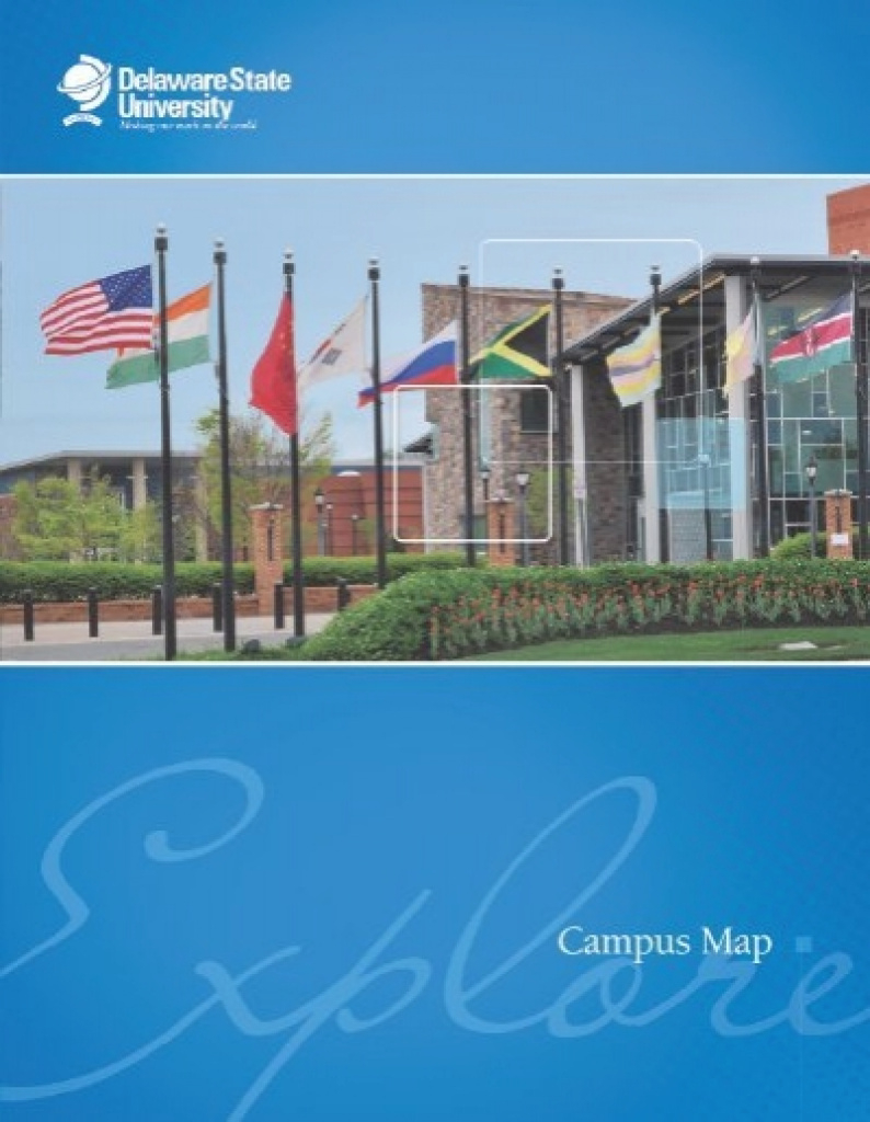 Campus Map And Parking - Delaware State University pertaining to Delaware State University Campus Map