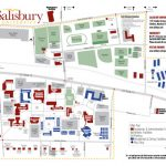 Campus Map | Salisbury University For Wayne State University Campus Map