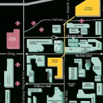 Campus Map Wayne State University   Oukas Pertaining To Wayne State University Campus Map