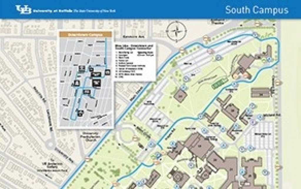Campus Maps - University At Buffalo intended for Buffalo State College Parking Map