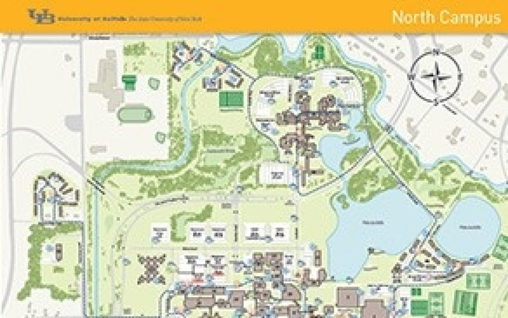 Campus Maps - University At Buffalo throughout Buffalo State College Parking Map