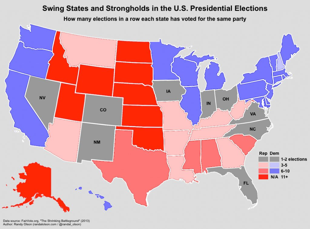 Can Bernie Sanders Win The 2016 General Election? | Revolutionary Pertaining To Red States Map 2015