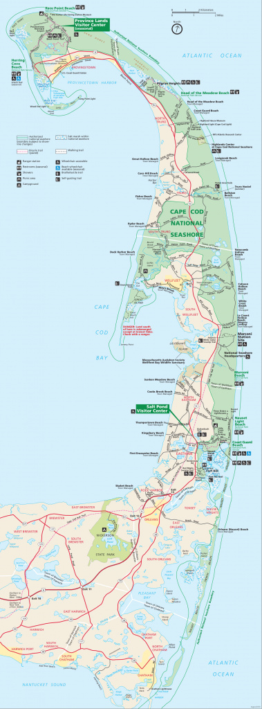 Cape Cod Maps | Npmaps - Just Free Maps, Period. throughout First Landing State Park Map Pdf