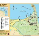 Cape Henlopen State Park Map   Cape Henlopen Deleware Usa • Mappery In First Landing State Park Map Pdf