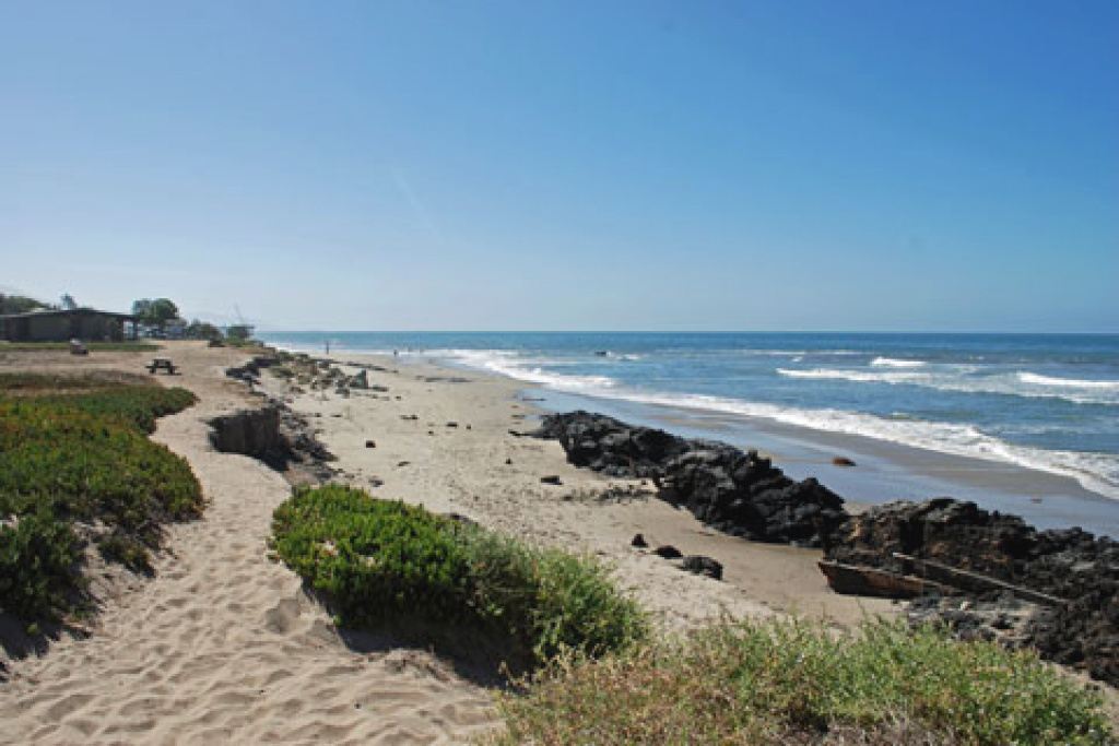 Carpinteria State Beach Campgrounds for Carpinteria State Beach Campground Map