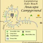 Carpinteria State Beach Camping   Mobile Throughout Carpinteria State Beach Campground Map