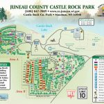 Castle Rock   Juneau County Intended For Castle Rock State Park Map