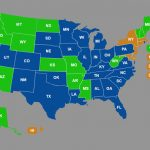 Ccw Reciprocity Maps For All Us States (Oct. 2018 Update) Regarding Concealed Carry States Map 2016