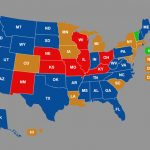 Ccw Reciprocity Maps For All Us States (Oct. 2018 Update) Within Concealed Carry States Map 2016