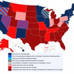 Challenge To Texas Ban On Same Sex Marriage Starts In San Antonio With Regard To Gay Marriage Us States Map