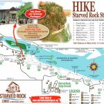 Chasing Waterfalls In Illinois: Starved Rock State Park!   Trailer Within Starved Rock State Park Trail Map