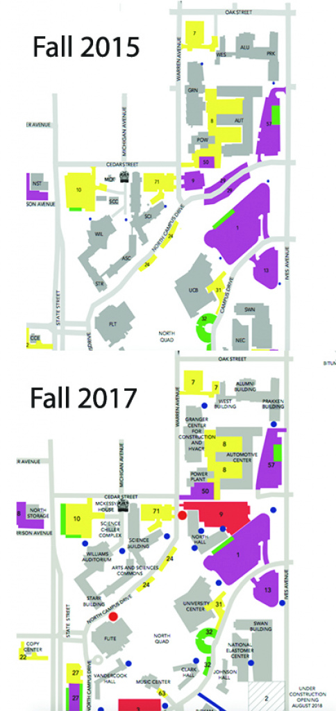 Chat With The Chief: Getting Around – The Ferris State Torch pertaining to Ferris State University Campus Map