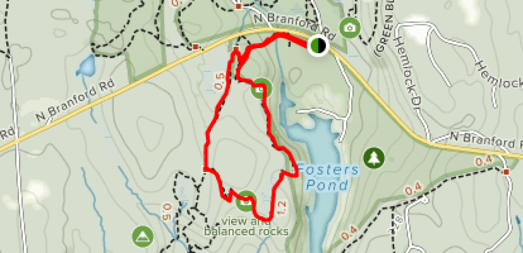 Chatfield Hollow Loop - Connecticut | Alltrails pertaining to Chatfield Hollow State Park Trail Map