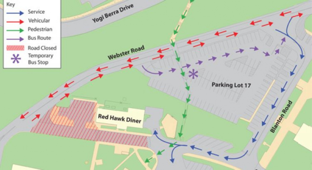 Chcp Project Construction Update: 7/26/12 – University Facilities with regard to Montclair State University Parking Map