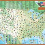 Children's Map Of The United States   Maps Inside United States Product Map