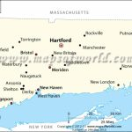 Cities In Connecticut, Connecticut Cities Map With Regard To State Of Ct Map With Towns