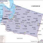 Cities In Washington, Washington Cities Map Within Map Of Washington State Cities And Towns