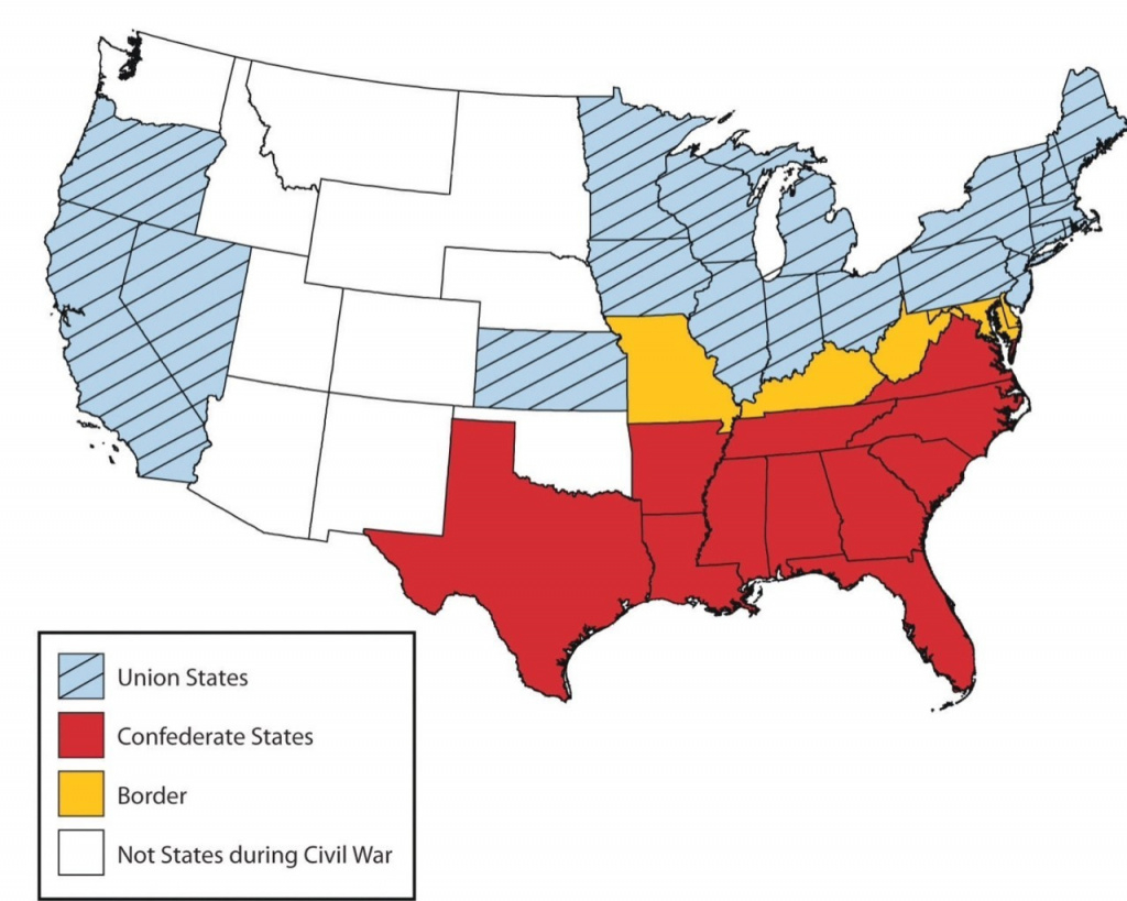 Civil War In Arkansas Thinglink And Map Us During Border States Of 1 with regard to Civil War Map Union And Confederate States