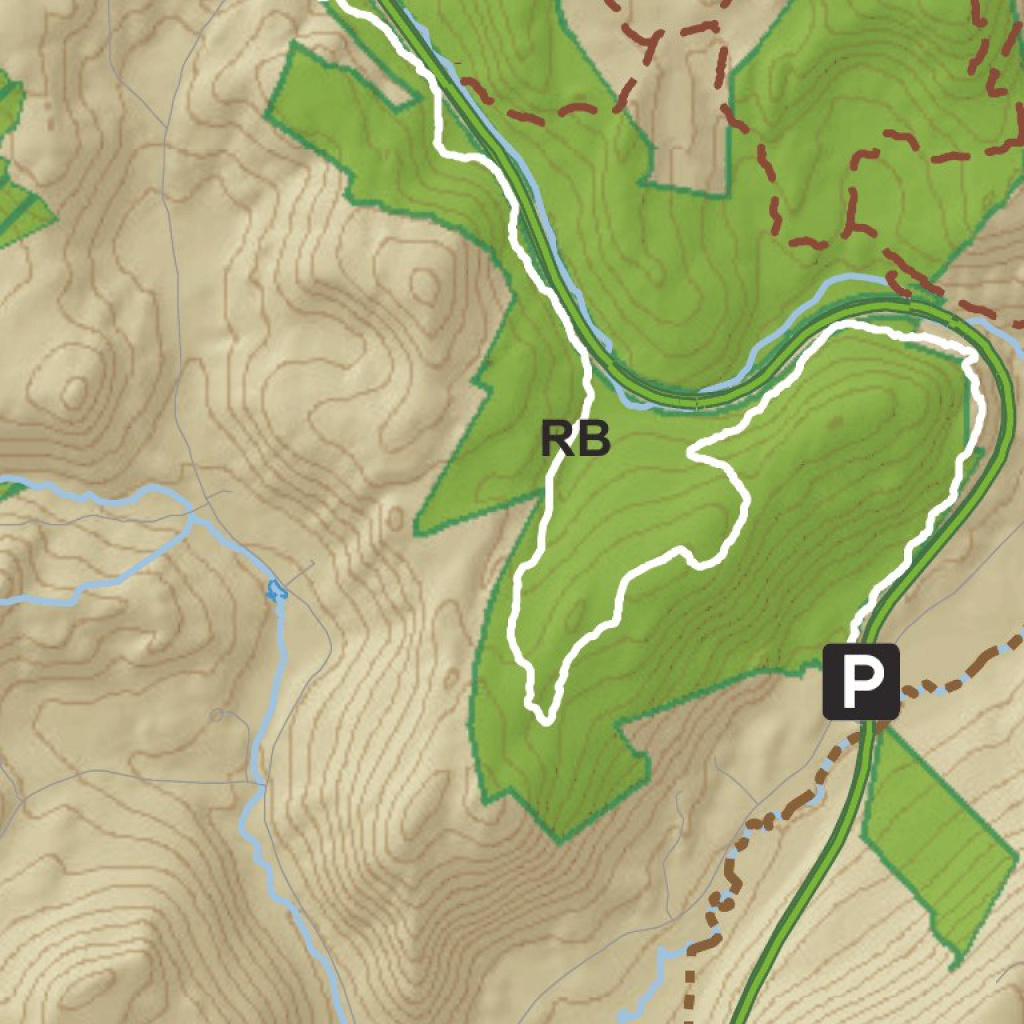 Clarence Fahnestock State Park Trail Map - New York State Parks with regard to Fahnestock State Park Trail Map