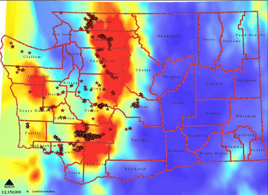 Cliff Mass Weather And Climate Blog: The Landslide State with Washington State Mudslide Map