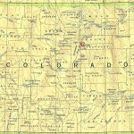 Colorado Maps   Perry Castañeda Map Collection   Ut Library Online With Regard To Colorado State Map With Counties And Cities