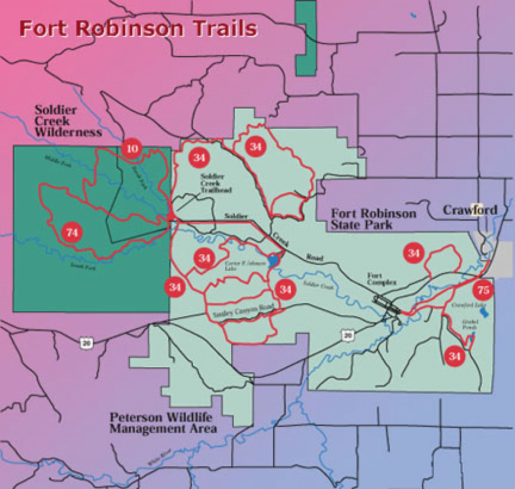 Colorado Pointer Club in Map Of Fort Robinson State Park