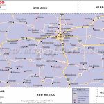 Colorado Road Map, Highways In Colorado Pertaining To Colorado State Driving Map
