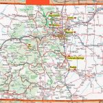 Colorado Road Maps And Travel Information | Download Free Colorado Pertaining To Colorado State Driving Map