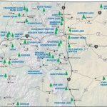 Colorado State And National Parks For Colorado State Parks Map