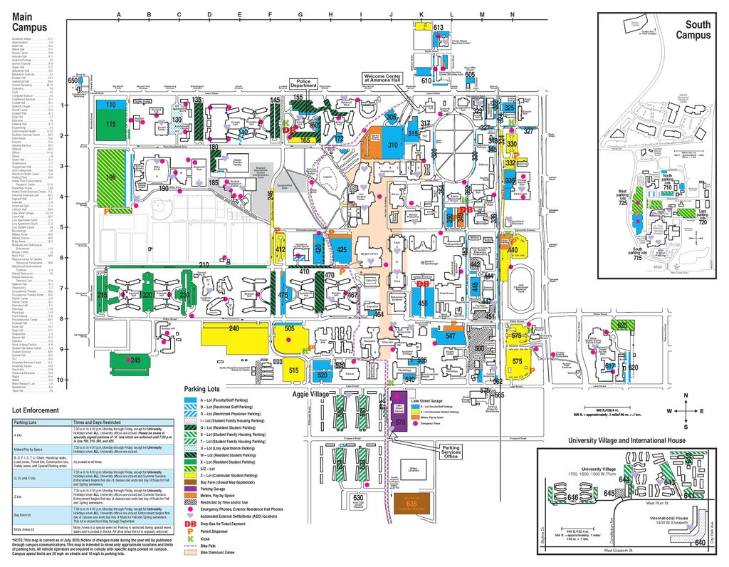 Colorado State University - Maplets inside Colorado State Campus Map
