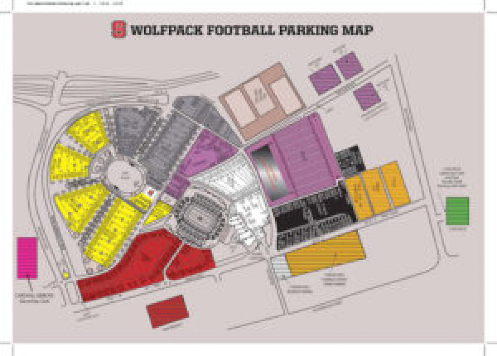 Come Home Nov. 3 And 4 And Help Us Celebrate The Wolfpack | Textiles in Nc State Football Parking Map