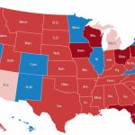 Common Cents: 2016 Presidential Election Maps With Red State Blue State Map 2012 Presidential Election