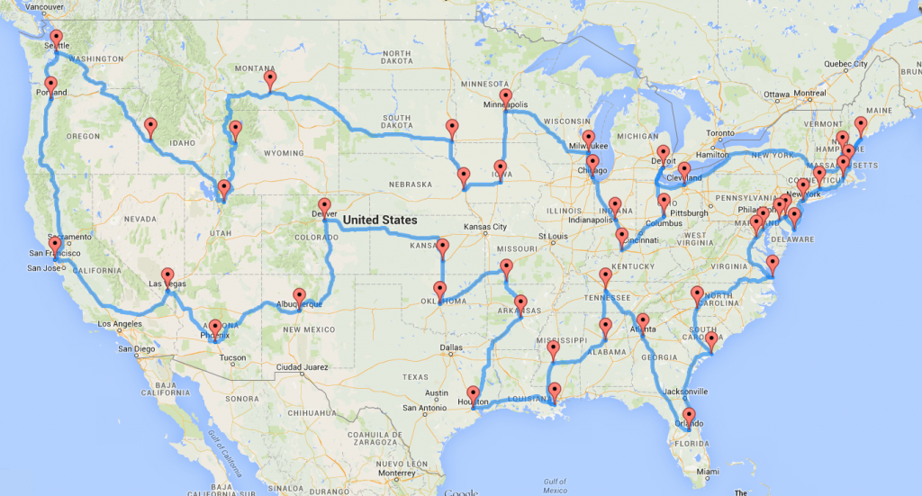 Computing The Optimal Road Trip Across The U.s. | Dr. Randal S. Olson in United States Road Trip Map