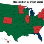 Concealed Carry   Nevada Carry Regarding Open Carry States Map 2017