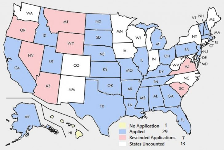 Convention Of States Map